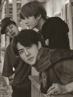 Baekhyun, Exo Group Photo, Exo 2014, Types Of Boyfriends, Ko Ko Bop, Exo Concert, Xiu Min, Celebrity List, Kim Jongin