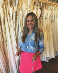 It's Friday again! Meet another one of our consultants Taylor. Taylor will become your best friend during your time with us! She will help you step outside of your comfort zone and find your perfect dress! Fun fact: Call us or check online to make an appointment with Taylor!