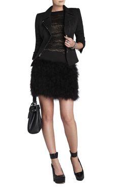 bcbg would you wear a furry skirt?