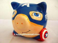 CAPITAN AMERICA de ceramica - Buscar con Google