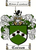 Carnes Family Crest / Ireland Coat of Arms  View our Carnes Coat of Arms Products  Redmond Coat of Arms Also Available at: www.4crests.com  ...