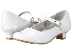 Kenneth Cole Reaction Kids: Draw The Shine Little Kid/Big Kid (White) Girls Dress Shoes, Ladies Shoes, Sparkly Shoes, Big Kids, Mary Janes, Character Shoes, Classic Style, Kids Fashion, Dance Shoes
