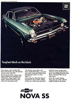 1969 Chevrolet Nova SS / Super Sport advertisement