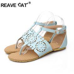 7d9d6c83c50b5f Find More Women s Sandals Information about Plus size 31 45 New arrival Women  sandals Flats Cut
