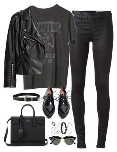 """Untitled#4677"" by fashionnfacts ❤ liked on Polyvore featuring Diesel, H&M, Jeffrey Campbell, Yves Saint Laurent, B-Low the Belt, Ray-Ban and ASOS"