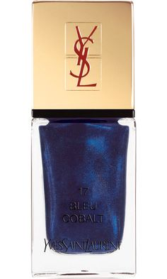 Yves Saint Laurent La Laque Couture in 17: Bleu Cobalt