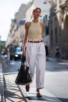 How to wear fall fashion outfits with casual style trends Look Street Style, Street Style Summer, Madrid Street Style, Mode Outfits, Fashion Outfits, Womens Fashion, Cool Street Fashion, Look Fashion, Trendy Fashion