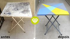 Bar, Table, Furniture, Home Decor, Home Decor Ideas, Diy Home, Grey Desk, Remove Rust, Steel Table
