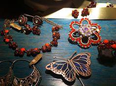 Yiousouri Thessaloniki, Fabric Jewelry, Jewelry Shop, Greece, Charmed, Bracelets, Diy, Fashion, Greece Country