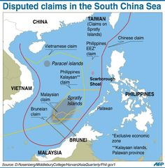 """China anger over US military """"plans"""" in disputed waters - Yahoo News"""