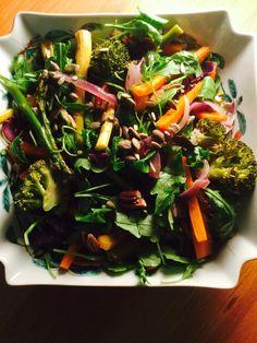 Receitas - Salada crocante