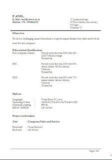 Computer engineering phd resume
