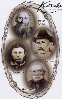mccoy was distantly related to the mccoys in the hatfield mccoy feud ...