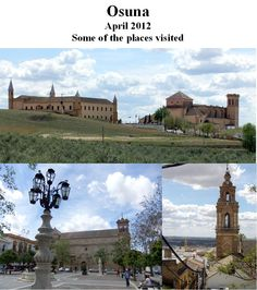 April 2012 stayed in Osuna en-route to Portugal