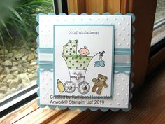 Baby Swap card by kathleenh - Cards and Paper Crafts at Splitcoaststampers