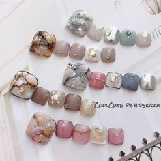Pretty Toe Nails, Cute Toe Nails, Toe Nail Art, Creative Nail Designs, Toe Nail Designs, Summer Holiday Nails, Feet Nail Design, Cute Pedicures, Cat Nails
