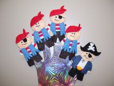 Rhyme: Five Pirates Finger Puppets Source: Bird's Books