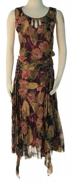 Gillian Darmody's Floral Dress