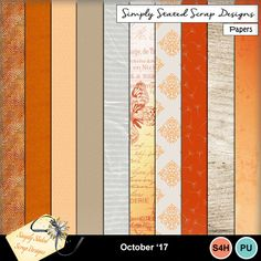 Pack of 10 Papers for the October 2017 mini kit. Personal & Scrap for Hire use only. 300dpi. Full size. #mymemories #mymemoriessuite #scrapbooking #digitalscrapbooking #digiscrapbooking #digitalscrapbookkits #kits #papers