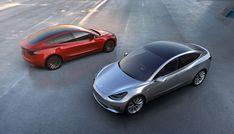 Новая «Тесла»: Фотографии Tesla Model 3 за 35 тысяч долларов — Meduza