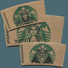 Of course, after viewing these awesome creative works of Starbucks-sleeve art, you'll never look at a Starbucks' sleeves the same way again.   Not only is this artist good at what he/she does, but there's something for everyone! Star Wars anyone? Dubbed #sleevebuckson Instagramand Tumblr, this artist has been 'cheerfully doodling on your favourite …
