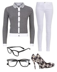 """""""tggffhhb"""" by abbey-ceee ❤ liked on Polyvore featuring Carven, J Brand, Ray-Ban and Vivienne Westwood Anglomania"""