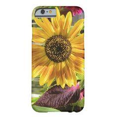 Sassy Sunflower iPhone 6 Case