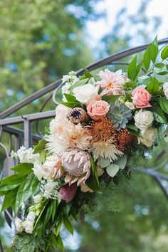 Arbor detail by ZuZu's Petals // The Mill Photography