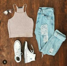 Teen fashion outfits, new outfits, everyday outfits, cute fashion, fashion Cute Teen Outfits, Cute Comfy Outfits, Teenage Outfits, Teen Fashion Outfits, Cute Summer Outfits, Cute Fashion, Outfits For Teens, Stylish Outfits, Fall Outfits