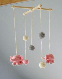 mommo design: CROCHET LOVE - mobile
