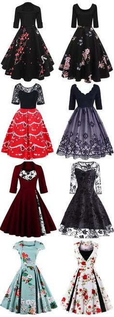 Highly Recommend it.50% OFF Christmas Vintage Dresses.Shop This Look,Free Shipping Worldwide.