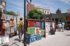 shopping, open air markets, outdoor markets, Buenos Aires, Argentina