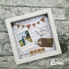 LOVE!! it's what makes the world go around! These beauts are only £17 posted! (Button colours can be changed to suit any anniversary ) simply DM us to order! (Also available on our etsy shop- link in bio ☝) #anniversary #silveranniversary #wedding #buttonart #polaroid #polaroidmoments #gifts #madewithlove #keepsake #shadowbox #boxframe #lovethis #romance #congratulate #handmadegoodies #happypost #etsyorder #mrandmrs #iloveyou #handmadewithlove #homemadegifts