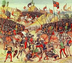 Roman Battle Pictures | ... soldiers fighting French soldiers during the Battle of Auray, 1346