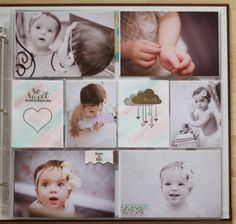 { Conibaers creative desk }: Hello there! Project Life using Stampin'Up! -right page #plxsu