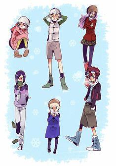 Digimon adventure 02 - navidad