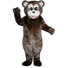 229-Z Happy Bear - Team-Mascots.  See more bear mascot costumes at:  http://www.team-mascots.com/bear-mascot-costumes/bear-229