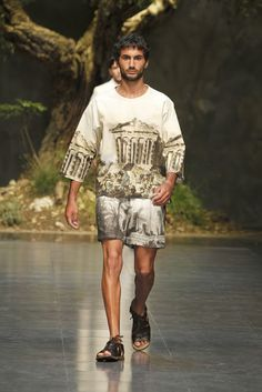 Dolce & Gabbana inspired by ancient greece