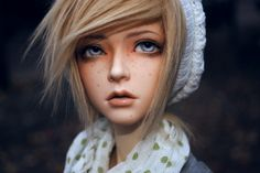 Trish. by Pindakees.deviantart.com Such a beautiful BJD! Their eyes are so alive!