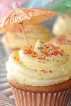Lemon Buttercream cupcakes