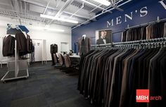 Men's Warehouse /// MBH Architects is a full service architecture firm headquartered in the San Francisco Bay Area. We specialize in retail, restaurant, multifamily housing, mixed use, workspace, hospitality, and healthcare architecture and design. For more info, check us out at mbharch.com