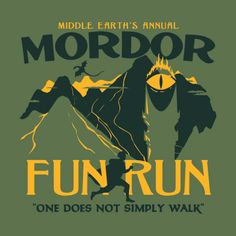 Mordor Fun Run // T-shirt