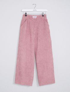 Women's Zori Corduroy Pants - Pink | Trousers | Native Youth