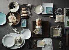 Mesh by Rosenthal Tabletop, Table Settings, Mesh, Dinnerware, Table, Place Settings, Countertop, Table Arrangements, Fishnet