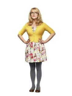 TBBT Bernadette, i've always loved her outfits, perfect for us curvy girls!