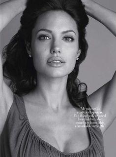 Harper's Bazaar July Angelina Jolie | Angelina Jolie Covers UK Harper's Bazaar In December 2008 « Fashion ...