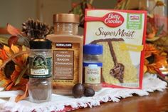 How To: Make a Spice Cake from a Yellow Cake Mix   http://www.thesisterscafe.com/2012/11/to-spice-cake-yellow-cake-mix