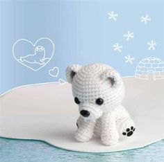 Polar Lucibear - Crochet Me. Is part of a calendar with 11 other really cute projects!