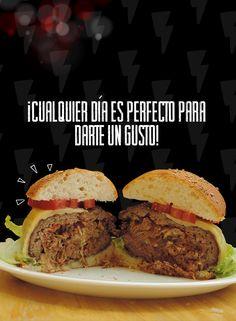 Hoy es un buen día para disfrutar de una jugosa, suculenta y deliciosa hamburguesa rellena de Ají Seco (No importa cuando leas esto)