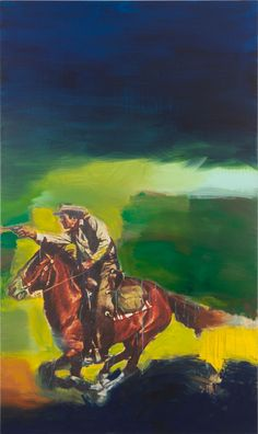 Richard Prince, Untitled (Cowboy), 2012, Inkjet and acrylic on canvas, 80 9/16 x 48 inches  (204.6 x 121.9 cm)
